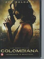 DVD - COLOMBIANA - LUC BESSON - ENGLISH / NEDERLANDS