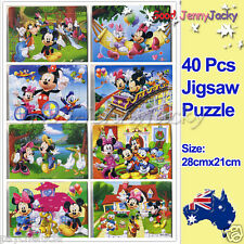 1x Disney Mickey B Drawing 40 Pieces Jigsaw Puzzles Best Gifts for Kids
