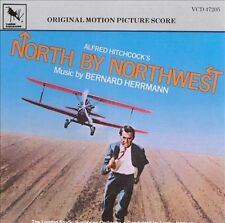 North by Northwest (Original Film Score) by Bernard Herrmann,(CD-1991) SEALED