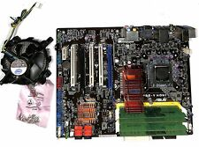 LOT MOTHERBOARD ASUS PSE-V HDMI + CPU XEON E5420 + 2GB RAM + FAN COOLER + SCREWS