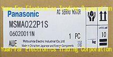 MSMA022P1S- Panasonic AC Servo Motor In Stock-Free Shipping($850USD)