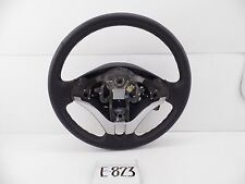 BLACK LEATHER OEM STEERING WHEEL NICE MITSUBISHI L200 TRITON TROJAN 12-15 cruise