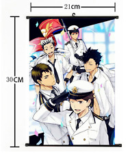 Anime Haikyuu high school volleyball Wall Poster Scroll Home Decor Cosplay 1230