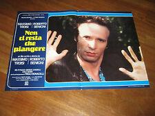 Fotobusta,1984,Non ci resta che piangere,Roberto Benigni  Massimo Troisi.