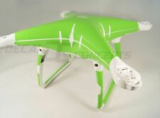 DJI Phantom 4 Full body Lime Green Skin Graphic Wrap Decal Sticker