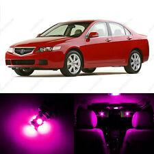 8 x Pink/Purple LED Interior Lights Package For 2004 - 2008 Acura TSX US Seller