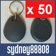 50 x T5577 125KHz LOW FREQUENCY RFID ID KEY TAG FOB READ WRITE T5567 T5557 T55x7