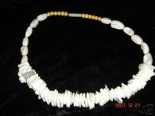 large shell  necklace from baja ca hand made