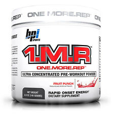BPI Sports 1.M.R Fruit Punch Energy, Focus, Muscle Pre-Workout 28 Servings