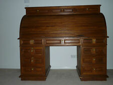 Timber Roll Top Desk