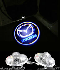 MAZDA 6 Rx8 CX Auto Logo Emblem Laser light LED Car Door Ghost Shadow 2pcs