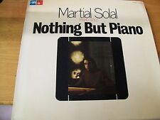 MARTIAL SOLAL NOTHING BUT PIANO  LP MPS