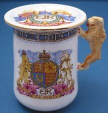 1937 King Edward Viii Paragon Chocolate Cup & Cover