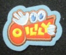 "OILILY CLOTHING EMBROIDERED PATCH CHILDREN WOMEN COMPANY ADVERTISING 2"" x 1 1/2"""