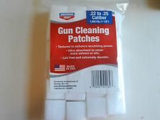 """Birchwood Casey BWC Gun Cleaning 1000 Patches;  22-25 cal;  1-1/8"""";  41160"""