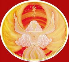 Angel Art Window Sticker: Healing Angel Fire Energy