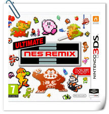 3DS Nintendo ULTIMATE NES REMIX Action Adventure