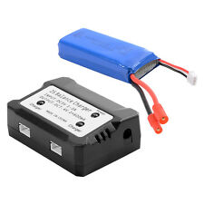 7.4V 2000mAh 25C Lipo Battery+2 in 1 Battery Balance Charger For Syma X8HW BC586