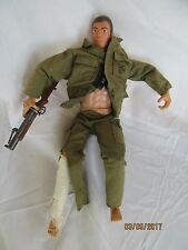 "1/6 th scale 12"" soldier White Brown Formative International leg wrapped"