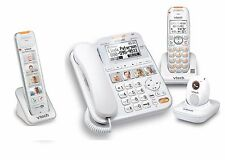 Vtech Careline SN6197 Home Safety Senior Telephone System w SN6307 SN6107 SN6167