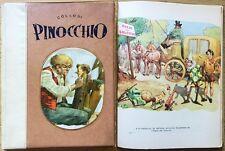 COLLODI_PINOCCHIO_Ed. Boschi, I ed. 1953_Coll. STRENNA N.1_ill. MORONI CELSI*