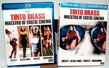 NEW MAESTRO OF EROTIC CINEMA - TINTO BRASS 4 BLU-RAY + DVD COLLECTOR'S ED SEALED