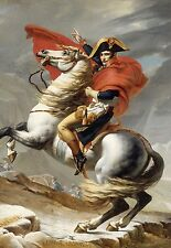 Napoleon Crossing the Alps  * 13 x 19 Color Reproduction Print