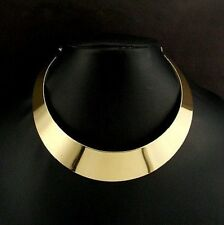 chocker necklace in goldtone-elegant with adjustable chain