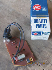 NEW AC Delco 1975 Oldsmobile  GM NOS Low Fuel Indicator Light Circuit Panel
