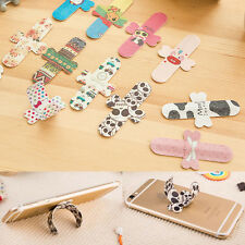 2 Pcs Cute Portable Touch-U Magic Sticker Stand Universal For Mobile Cell Phone
