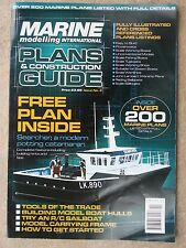 "Marine Modelling Boat Plan "" Searcher "" & Magazine Plans & Construction No 6"