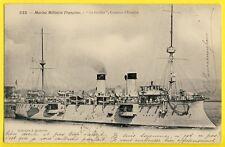 cpa TOULON MARINE MILITAIRE FRANÇAISE Croiseur d'Escadre GALILÉE Classe LINOIS