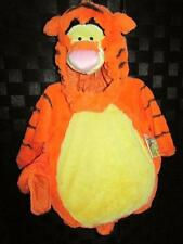 Kids Disney TIGGER The Tiger Plush Deluxe 4pc Halloween Costume 12/18 Mo New