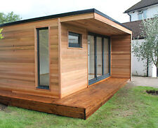 5m x 3m Garden Room / Home Office / Studio / Summer House / Log Cabin / Chalet