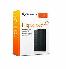 External Hard Drive Expansion 1TB Portable USB 3.0 Games Storage Xbox One Black