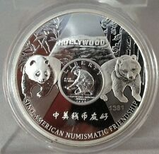 2016 1Oz Offical Anahiem Ana Show Proof 125th Anniversary Coa # 1381