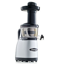 Omega VRT370HDS  Factory Certified Remanufactured Low Speed Vertical Juicer Silv