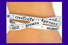 INSPIRATIONAL Cuff  BRACELET Religious Mom Fun Fai Silver Plated Fashion Jewelry