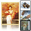 NEW:  Chinese - Oriental Lady with Gallipot - Counted Cross Stitch Kit