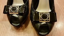 Christian Dior high-heels shoes. Size 38.5. Made in Italy.