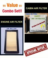 Combo set For Versa 07 08 09 10 11 12 Engine&Cabin Air Filter 5669 C25877