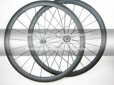1275g wheel set 38mm clincher carbon cycle wheel 700C bitex hub light aero spoke