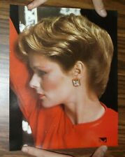 VTG Salon Poster~8x10~Fashion Hairstyle of the Late 1970s~Color~Feathered MOD #1