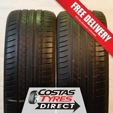 2 x 225 45 17 Goodyear Efficient Grip Extra Load 94Y No Repairs!