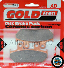 Honda 400 Steed Front Sintered Brake Pads 1988 Onwards - Goldfren