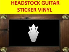 HEADSTOCK CROWN SILVER SG STICKER GUITAR VISIT OUR STORE WITH MANY MORE MODELS