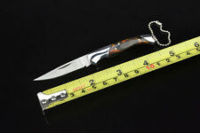 NEW Wolf Knife Folding Outdoor Sports Pocket Tool Saber With key chain 7# Hot