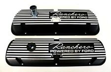 New! Ford Ranchero 289 302 Valve Covers Aluminum Pair Small Block Only Powered
