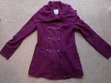 Preciosa Nueva Rip Curl púrpura Tribeca Chaqueta/Abrigo Talla: pequeño