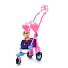Baby Kids Tricycle Toys Cute Pet Dog Doll Accessories Girls Birthday Gifts FG